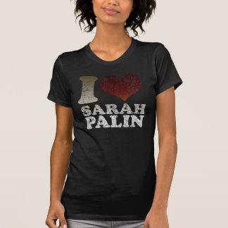 Amo la camiseta de la oscuridad de Sarah Palin