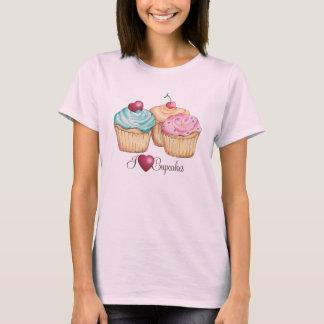 Amo la camiseta de las magdalenas (del corazón)