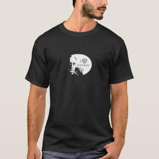 Amo la camiseta de las mujeres de Nabokov