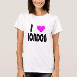 Amo la camiseta de Londres Reino Unido
