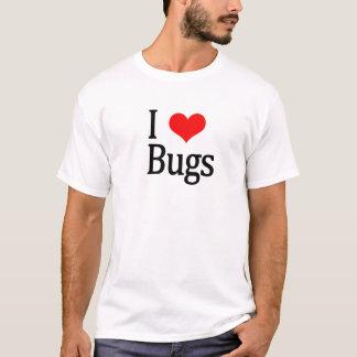 Amo la camiseta de los insectos