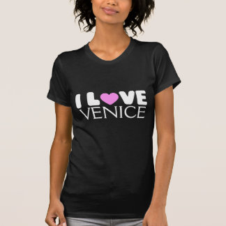 Amo la camiseta de Venecia el |