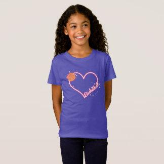 Amo la camiseta del chica del baloncesto