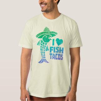 Amo la camiseta del Tacos de pescados