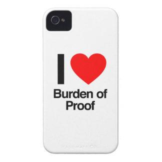 amo la carga de la prueba iPhone 4 Case-Mate cárcasa