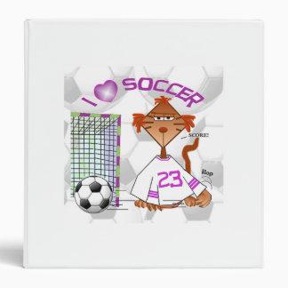 Amo la carpeta de Avery del fútbol Carpeta 3,8 Cm