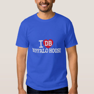 Amo la CASA del BÚFALO del DB Camiseta