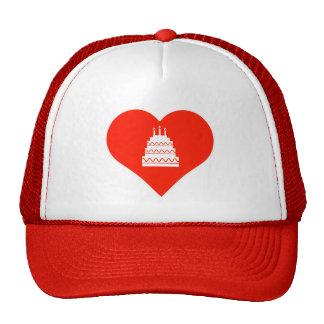 Amo la celebración gorras de camionero