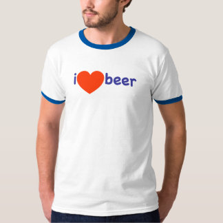 ¡Amo la cerveza! Camiseta