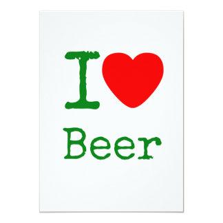 Amo la cerveza comunicados personalizados
