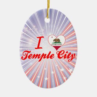 Amo la ciudad del templo, California Ornamentos De Reyes Magos