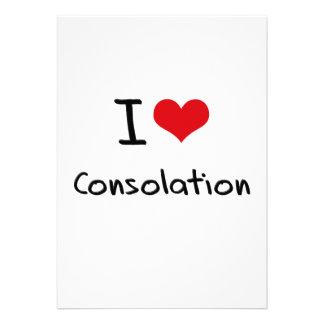 Amo la consolación invitación personalizada