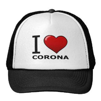 AMO LA CORONA, CA - CALIFORNIA GORRA