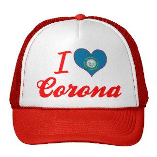 Amo la corona, Dakota del Sur Gorros