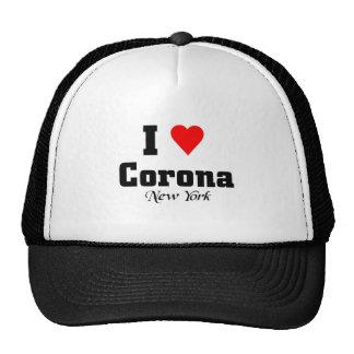 Amo la corona Nueva York Gorra