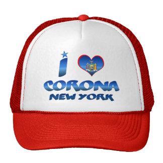 Amo la corona, Nueva York Gorro De Camionero