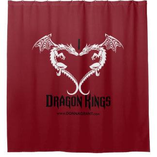 Amo la cortina de ducha de los reyes del dragón