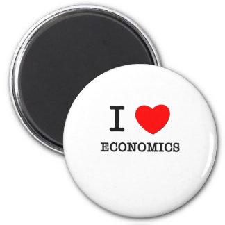 Amo la economía iman de nevera