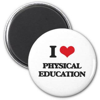 Amo la educación física imanes