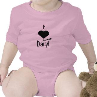 Amo la enredadera del niño de Daryl Traje De Bebé