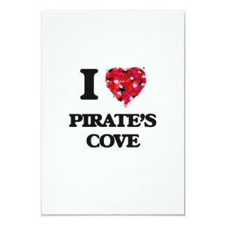 Amo la ensenada Alabama de los piratas Invitación 8,9 X 12,7 Cm