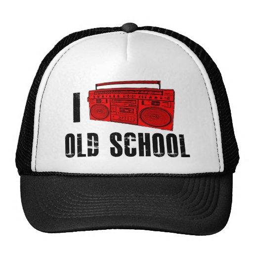 Amo la escuela vieja (Boombox) Gorro