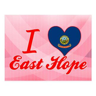 Amo la esperanza del este, Idaho Tarjeta Postal