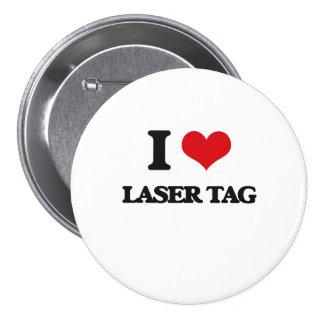 Amo la etiqueta del laser