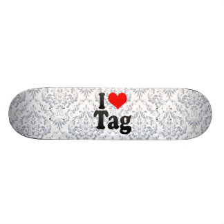 Amo la etiqueta patines