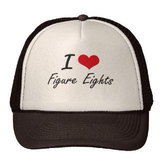 Amo la figura Eights Gorro