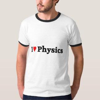 Amo la física camisas