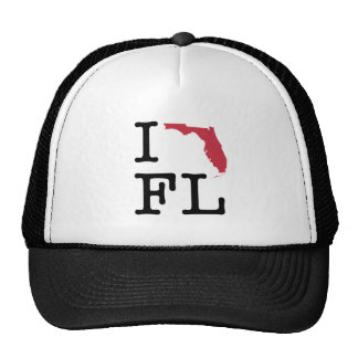 Amo la Florida Gorros Bordados