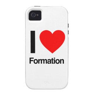 amo la formación iPhone 4/4S funda