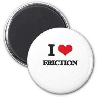 Amo la fricción imán redondo 5 cm