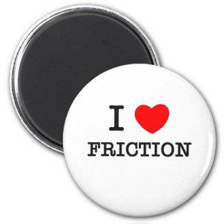 Amo la fricción imán de frigorifico