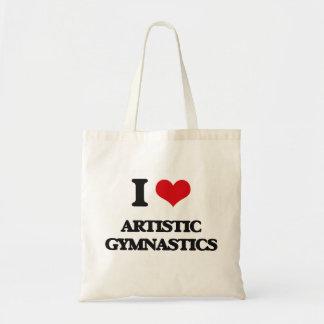 Amo la gimnasia artística bolsa