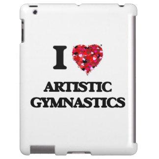 Amo la gimnasia artística funda para iPad
