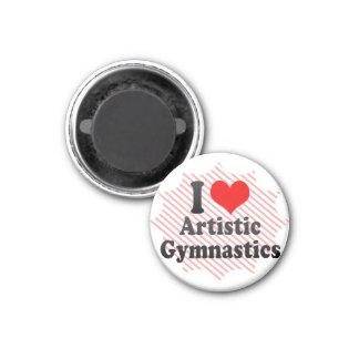 Amo la gimnasia artística imanes