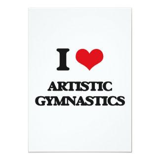 Amo la gimnasia artística comunicados personalizados