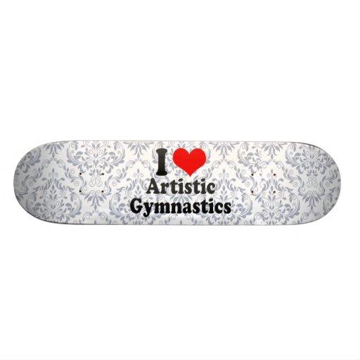 Amo la gimnasia artística patines personalizados
