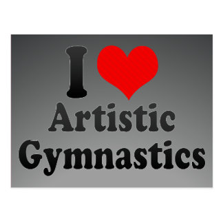 Amo la gimnasia artística postal