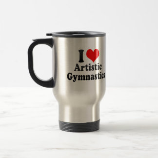 Amo la gimnasia artística taza
