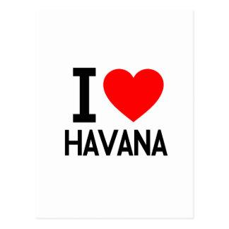 Amo La Habana Tarjeta Postal