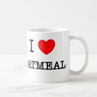 Amo la HARINA DE AVENA (la comida) Taza De Café