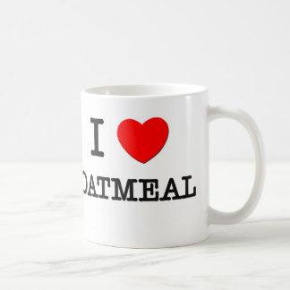 Amo la harina de avena taza de café