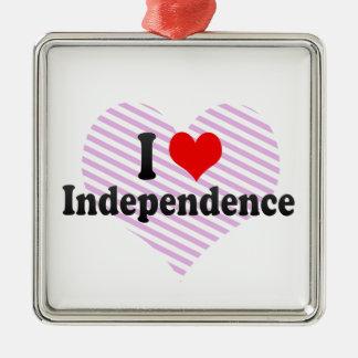 Amo la independencia, Estados Unidos Ornato