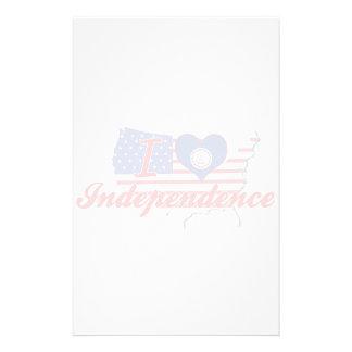 Amo la independencia, Virginia Papelería Personalizada