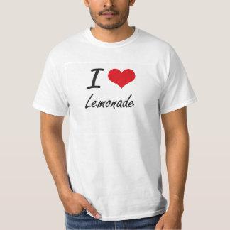 Amo la limonada camiseta