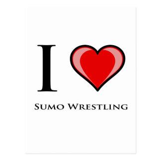 Amo la lucha de sumo postal