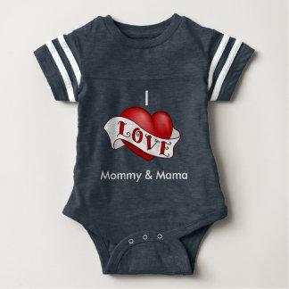 Amo la mamá y Momma Body Para Bebé
